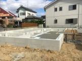 新築住宅の基礎完成です。|郡山市 新築住宅 大原工務店のブログ