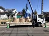 大きな重機を使います。郡山市安積町M様邸| 郡山市 新築住宅 大原工務店のブログ