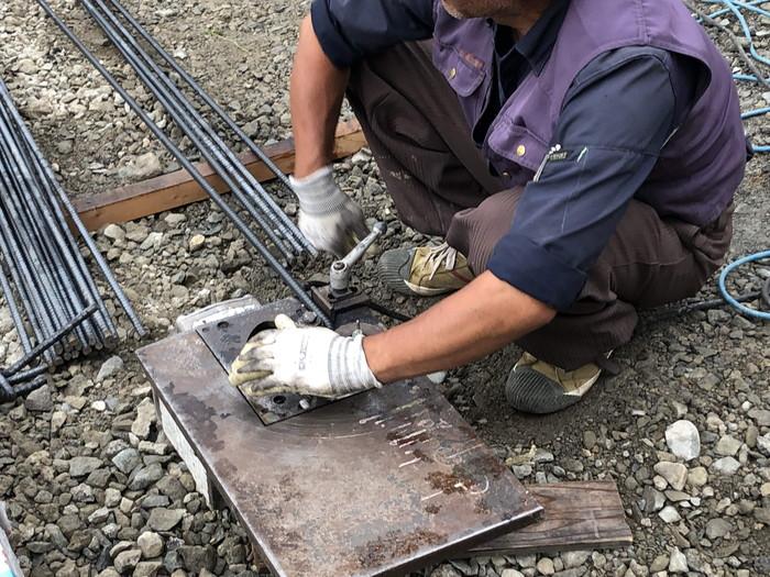 べた基礎の鉄筋加工です。|郡山市 新築住宅 大原工務店のブログ