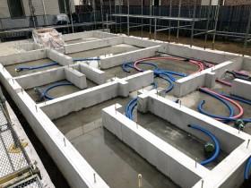上棟前のべた基礎完成です。 郡山市 新築住宅 大原工務店のブログ