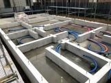 上棟前のべた基礎完成です。|郡山市 新築住宅 大原工務店のブログ