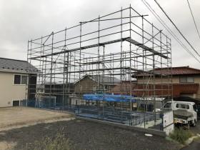 新築住宅の上棟前の様子です。|郡山市 新築住宅 大原工務店のブログ