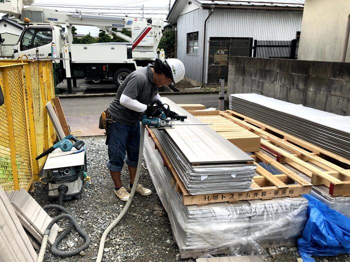 サイディングの施工です。|郡山市 新築住宅 大原工務店のブログ