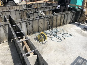 立ち上がり打設前 郡山市 新築住宅 大原工務店のブログ