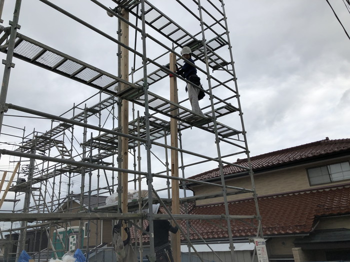 新築住宅の上棟です。|郡山市 新築住宅 大原工務店のブログ