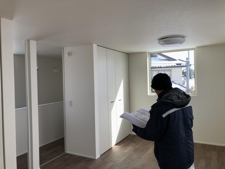 火災報知器の確認|郡山市 新築住宅 大原工務店のブログ