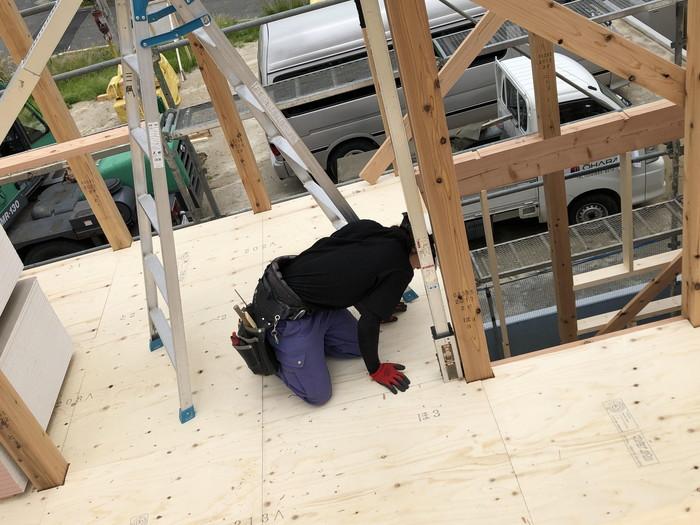 新築住宅の屋直しです。|郡山市 新築住宅 大原工務店のブログ