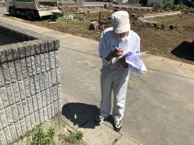 完了検査を受けました 岩瀬郡鏡石町  郡山市 新築住宅 大原工務店のブログ