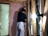 石膏ボード施工中です。郡山市大槻町| 郡山市 新築住宅 大原工務店のブログ