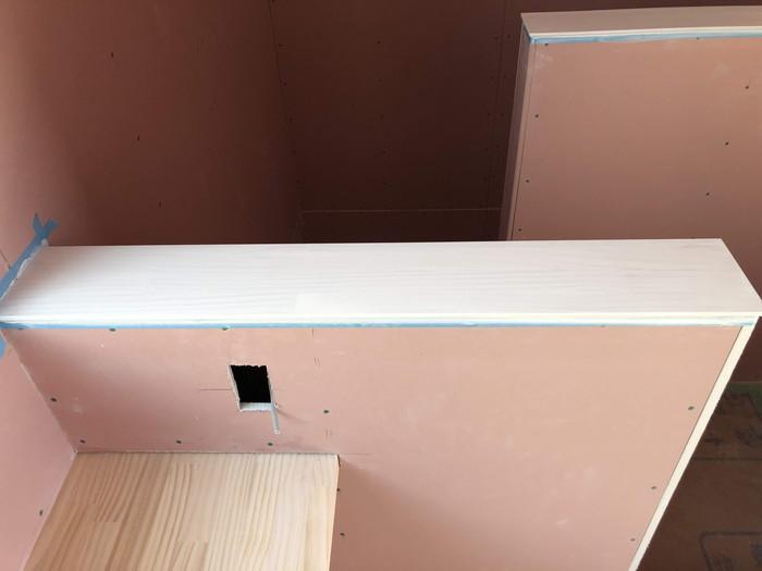 階段の笠木の塗装です。|郡山市 新築住宅 大原工務店のブログ