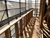 ベランダの施工です。|郡山市 新築住宅 大原工務店のブログ