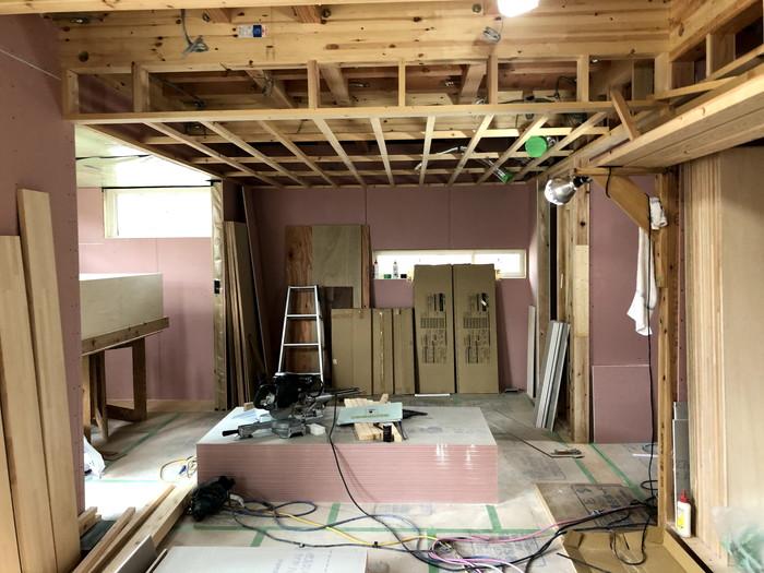 注文建築の天井の下地です。|郡山市 新築住宅 大原工務店のブログ