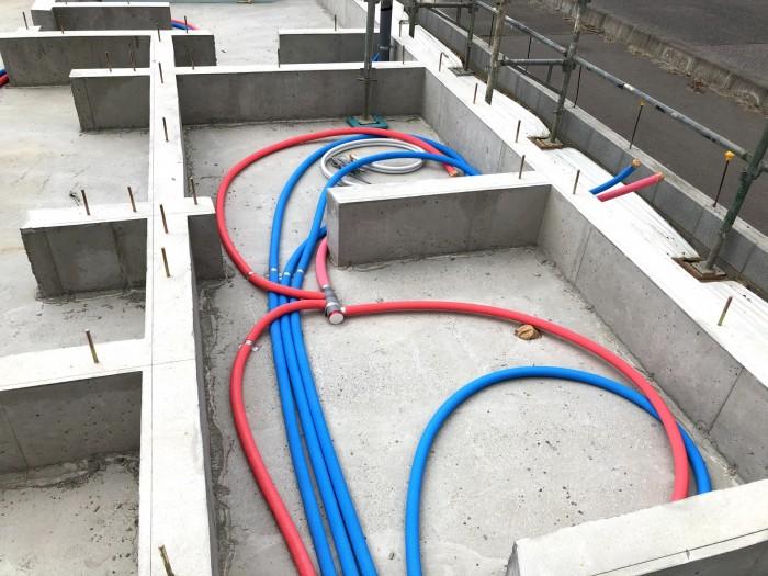 架橋ポリエチレン管を採用しています。郡山市東原 郡山市 新築住宅 大原工務店のブログ