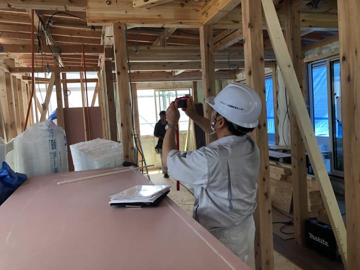 中間検査です。|郡山市 新築住宅 大原工務店のブログ