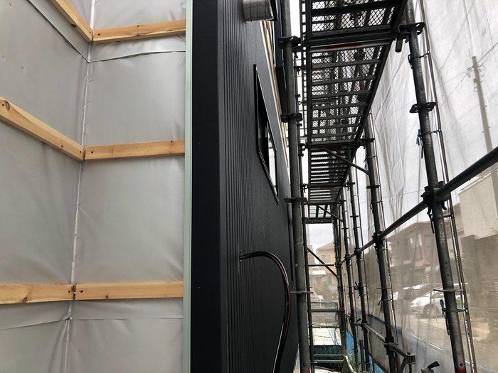 大原工務店で新築注文住宅建築中W様邸、外壁張っていきます。郡山市長者| 郡山市 新築住宅 大原工務店のブログ