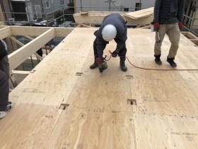 新築住宅の剛床工法です。|郡山市 新築住宅 大原工務店のブログ