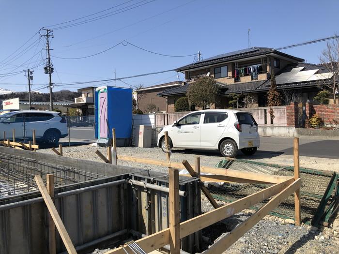 配筋検査を受けました。二本松市A様邸  郡山市 新築住宅 大原工務店のブログ