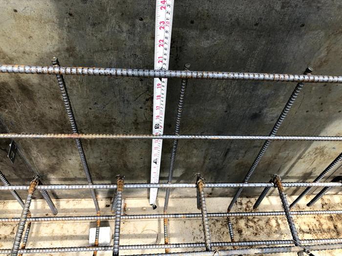 べた基礎の立ち上がりの鉄筋です。|郡山市 新築住宅 大原工務店のブログ