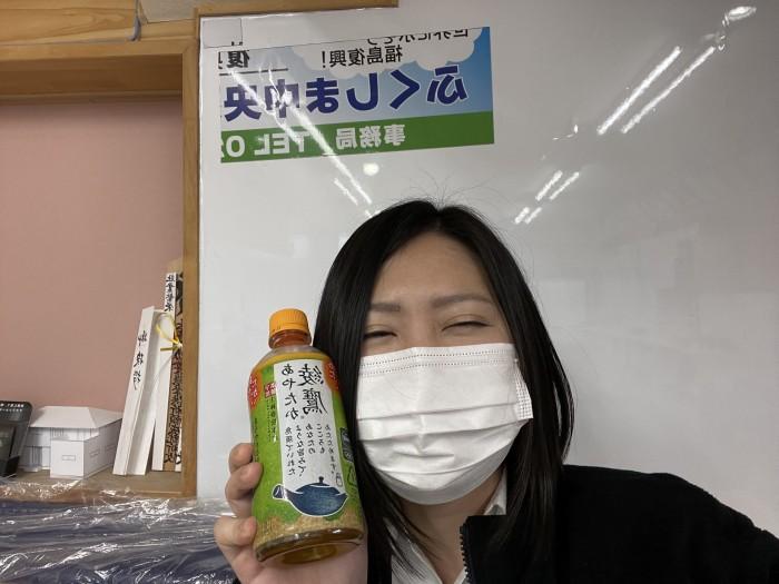 W様からお飲み物を頂きました!須賀川市森宿| 郡山市 新築住宅 大原工務店のブログ