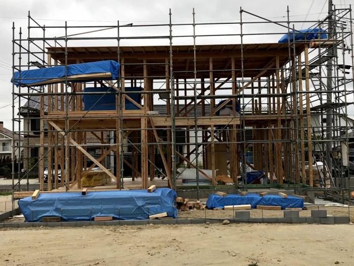 上棟検査行いました。郡山市東原|郡山市 新築住宅 大原工務店のブログ