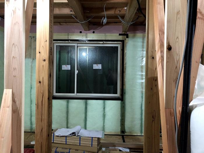 気密シートを施工しました 郡山市田村町 |郡山市 新築住宅 大原工務店のブログ