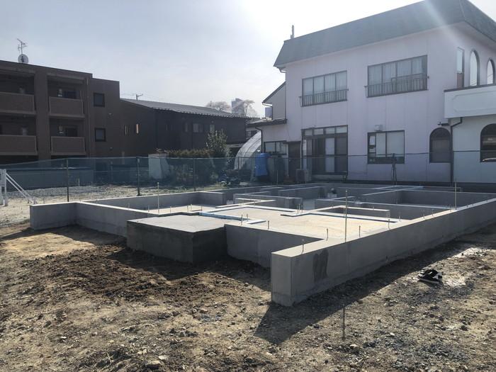 新築住宅べた基礎の完成です。|郡山市 新築住宅 大原工務店のブログ
