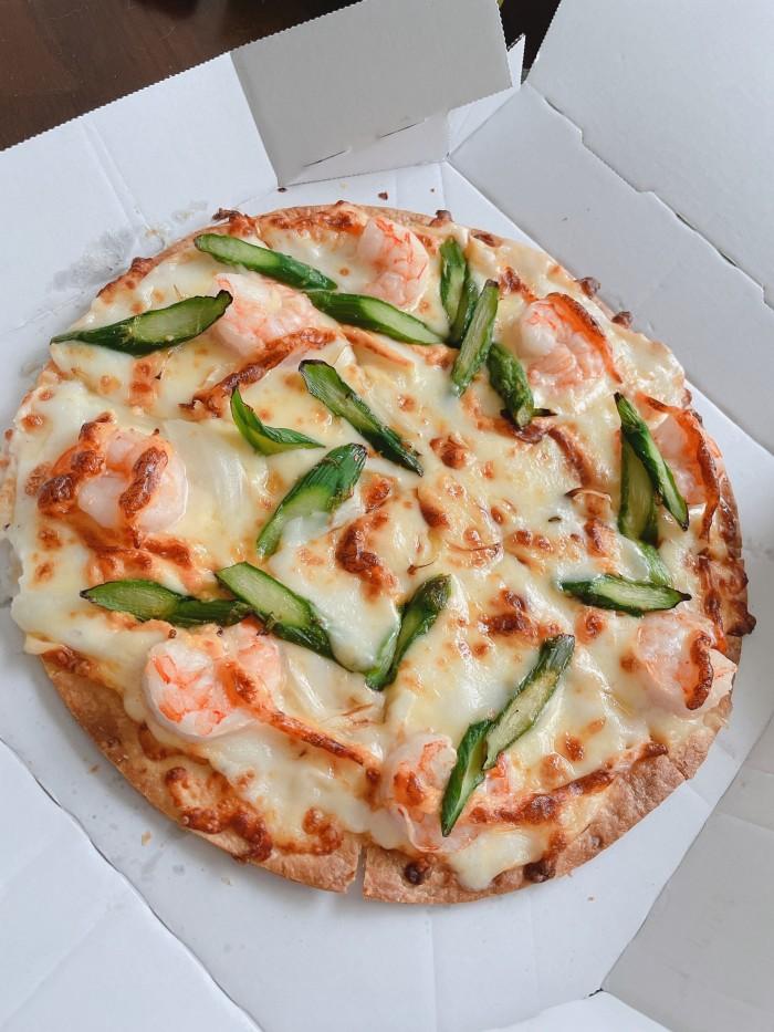 人生で初めてのドミノピザを食べました。| 郡山市 新築住宅 大原工務店のブログ