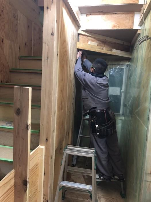 新築注文住宅M様邸、断熱材施工進んでおります。須賀川市森宿| 郡山市 新築住宅 大原工務店のブログ