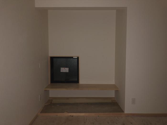 新築住宅の壁紙施工です。|郡山市 新築住宅 大原工務店のブログ