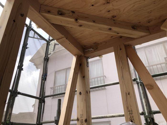 金物取付完了です。|郡山市 新築住宅 大原工務店のブログ