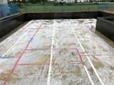べた基礎の防湿シート施工です。 郡山市 新築住宅 大原工務店のブログ