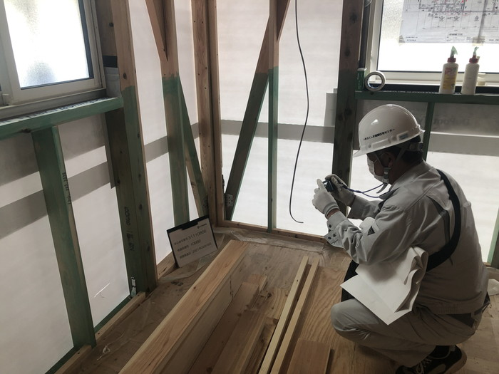 写真も撮ってしっかり記録します。二本松市A様邸| 郡山市 新築住宅 大原工務店のブログ