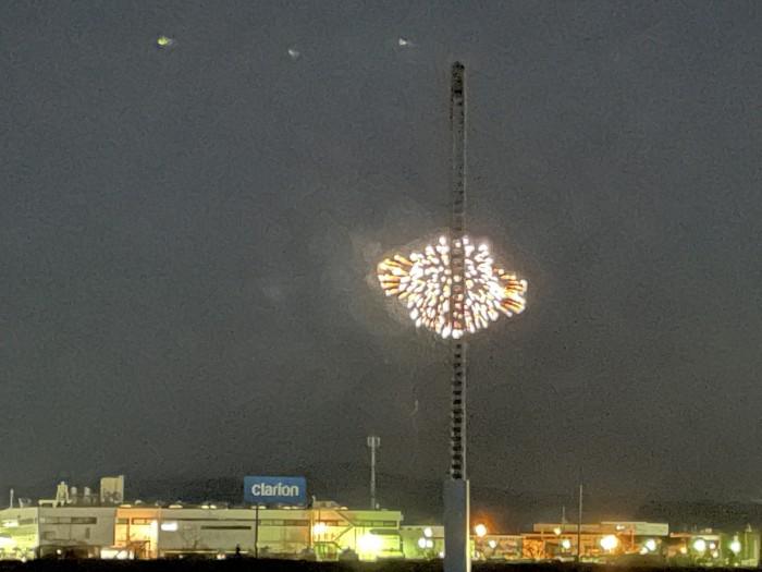 花火が上がってました!郡山市安積町  郡山市 新築住宅 大原工務店のブログ
