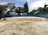 べた基礎が完成した写真です。郡山市安積町M様邸| 郡山市 新築住宅 大原工務店のブログ