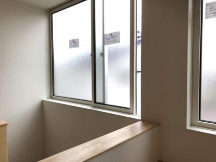 壁紙を貼った部分です。福島県会津若松市|郡山市 新築住宅 大原工務店のブログ