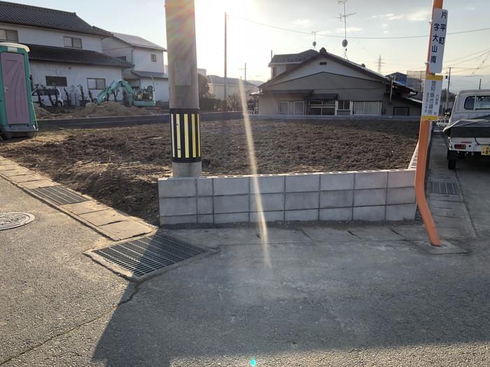 宅地の造成完了です。|郡山市 新築住宅 大原工務店のブログ