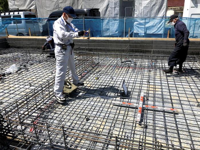 新築住宅の配筋検査です。|郡山市 新築住宅 大原工務店のブログ
