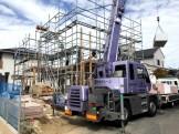 注文住宅の上棟です。|郡山市 新築住宅 大原工務店のブログ