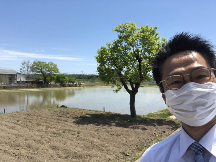 日和田町で田植えをしてました。|郡山市 新築住宅 大原工務店のブログ