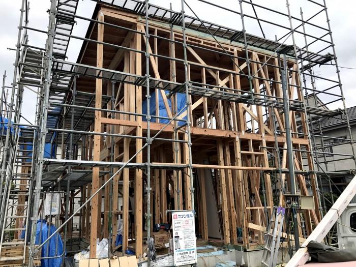 上棟完了です。|郡山市 新築住宅 大原工務店のブログ