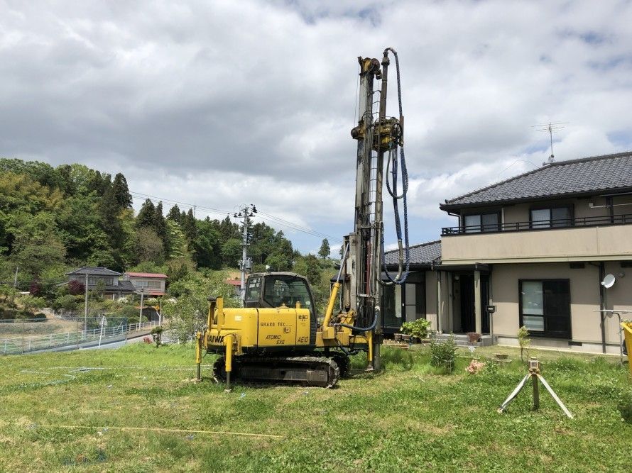 地盤改良の機械ってかっこいいですよね|郡山市 新築住宅 大原工務店のブログ