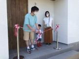 テープカットの儀です。|郡山市 新築住宅 大原工務店のブログ