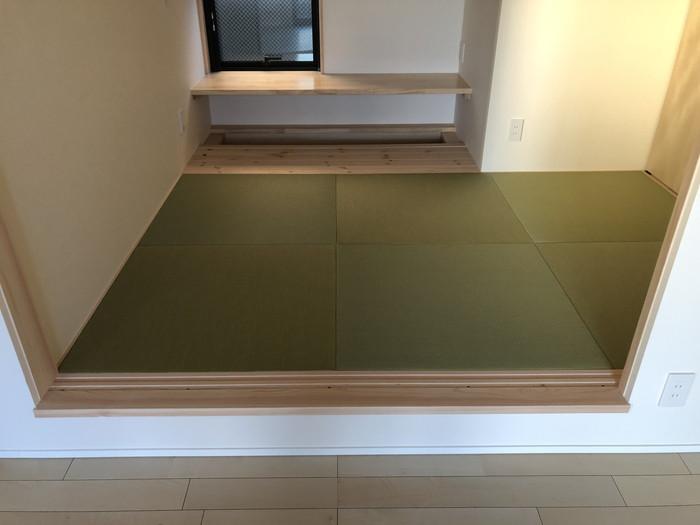 小上がり和室の完成です。|郡山市 新築住宅 大原工務店のブログ