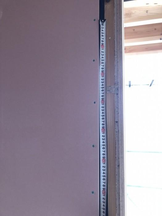 150㎜ピッチ確認できました。二本松市|郡山市 新築住宅 大原工務店のブログ