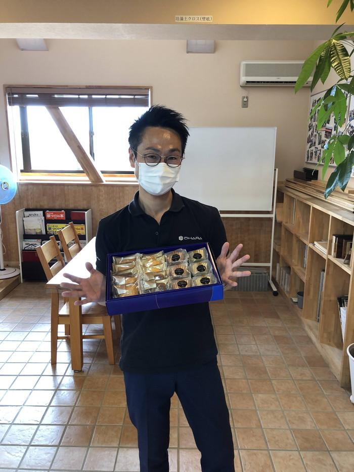 お菓子をいただきました。|郡山市 新築住宅 大原工務店のブログ