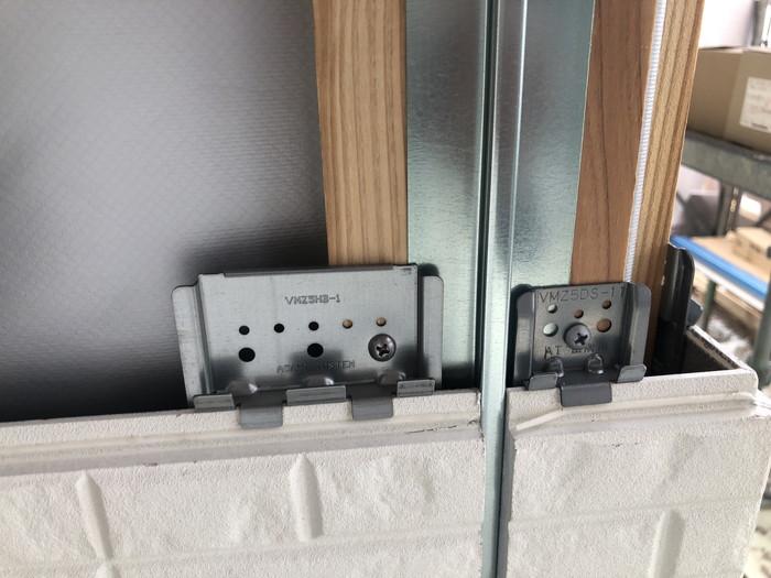 外壁の通気金物です。 郡山市 新築住宅 大原工務店のブログ