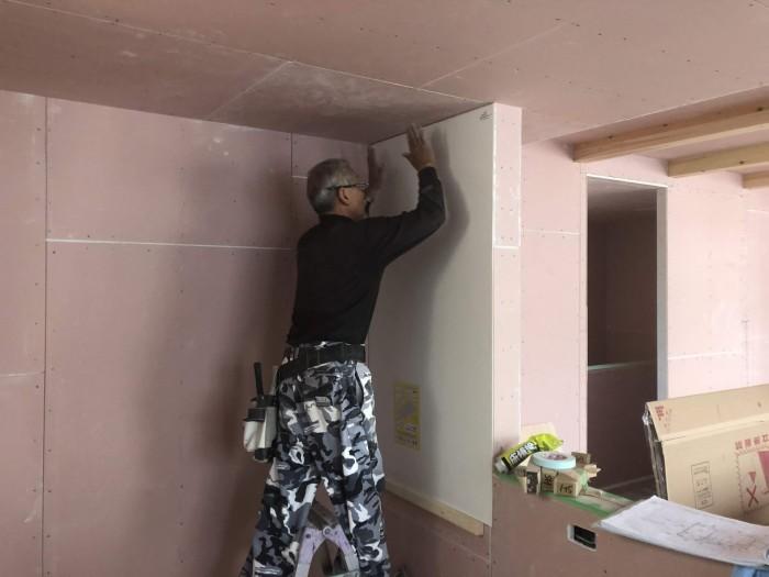 N様邸新築住宅にキッチンパネルを取り付けました。郡山市成山町| 郡山市 新築住宅 大原工務店のブログ