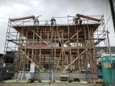 新築注文住宅M様邸上棟しました。郡山市大槻町|郡山市 新築住宅 大原工務店のブログ