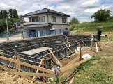 新築のべた基礎工事が進んでます。本宮市高木| 郡山市 新築住宅 大原工務店のブログ