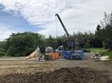 地盤改良工事が行われました。郡山市日和田町| 郡山市 新築住宅 大原工務店のブログ